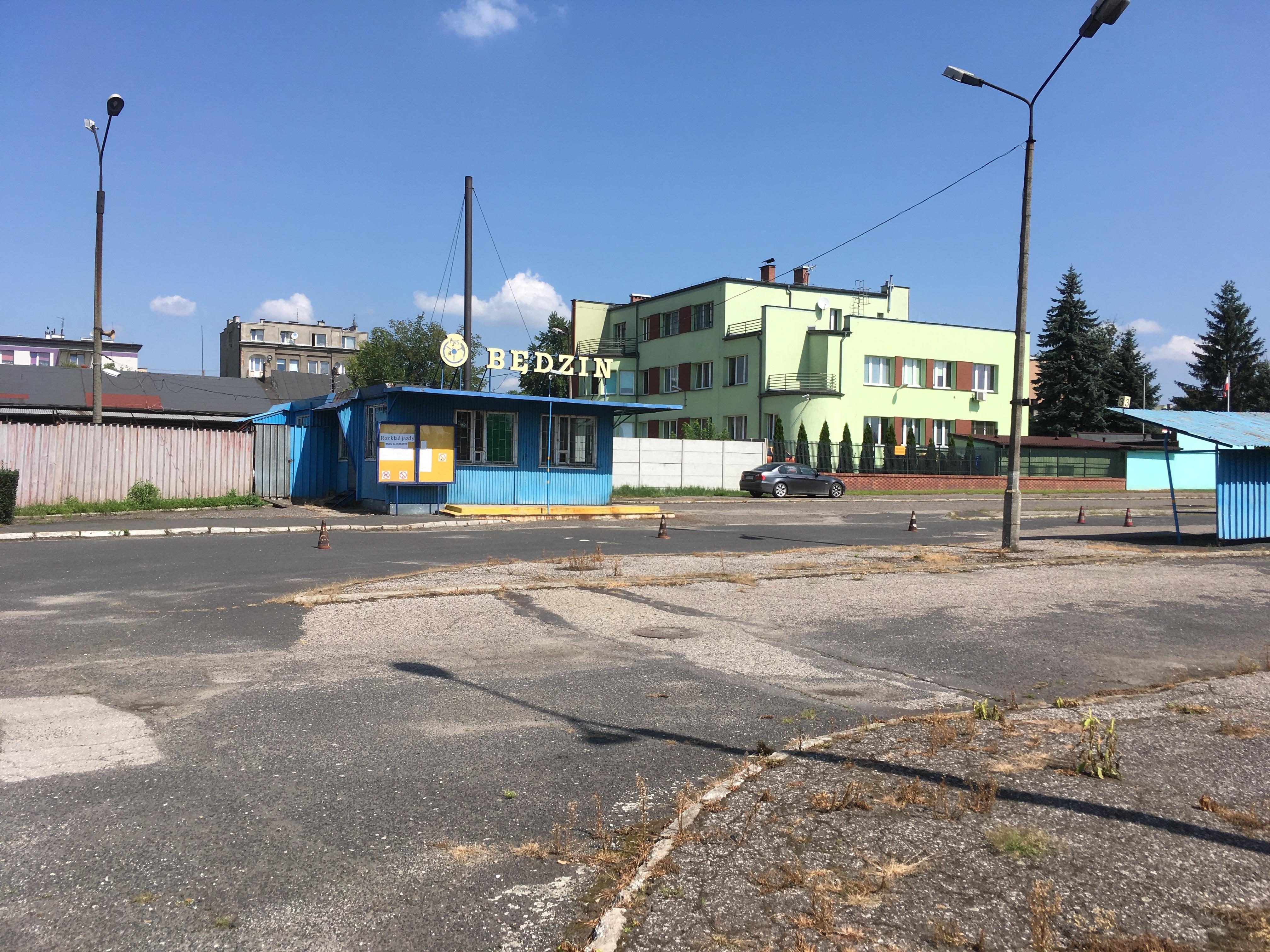 Fig 15 Bedzin former bus station, former Hakoach Sports Gournd, August 2018