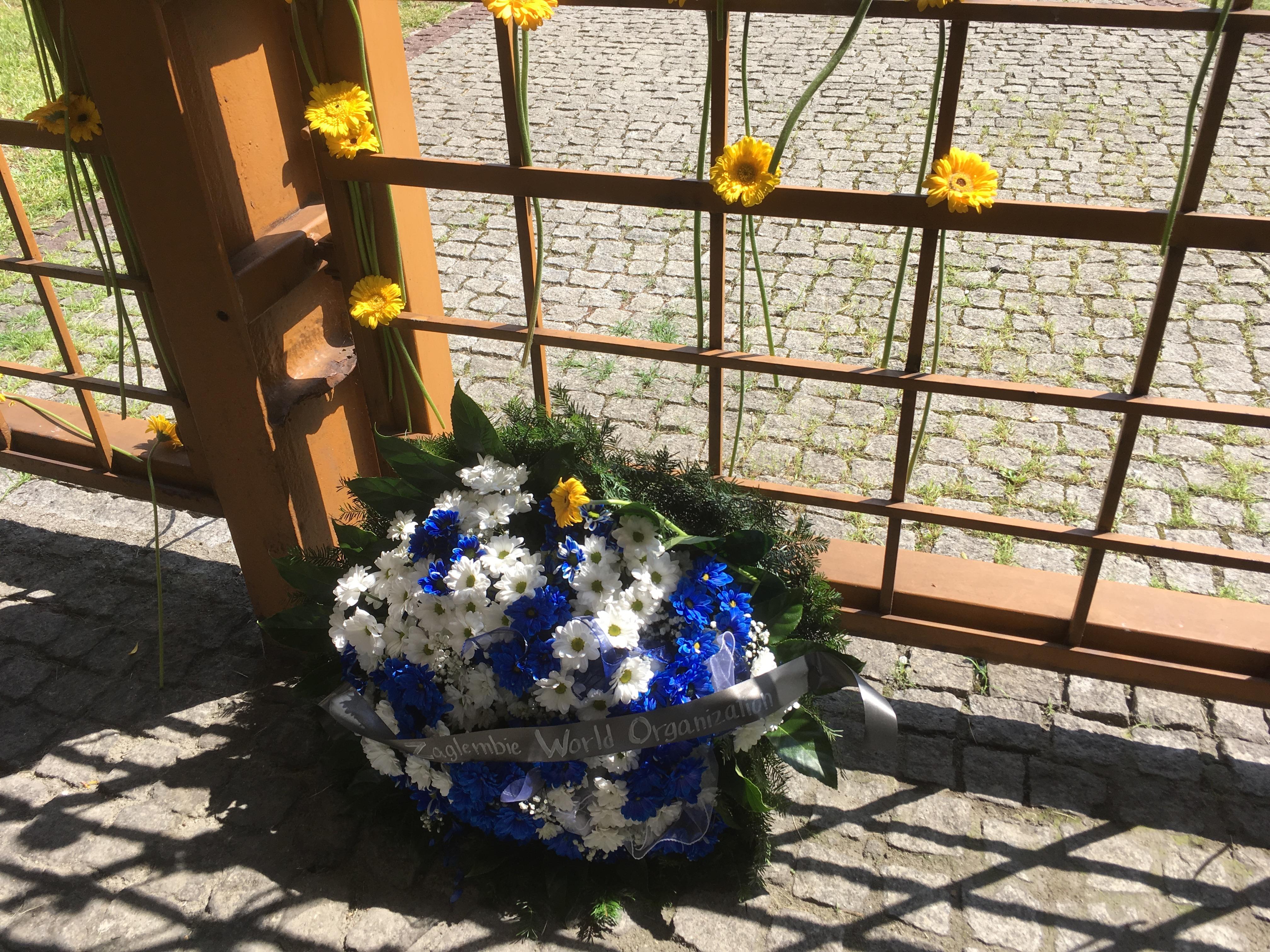 Fig 4 Flowers at Bedzin railway station 2 August 2018
