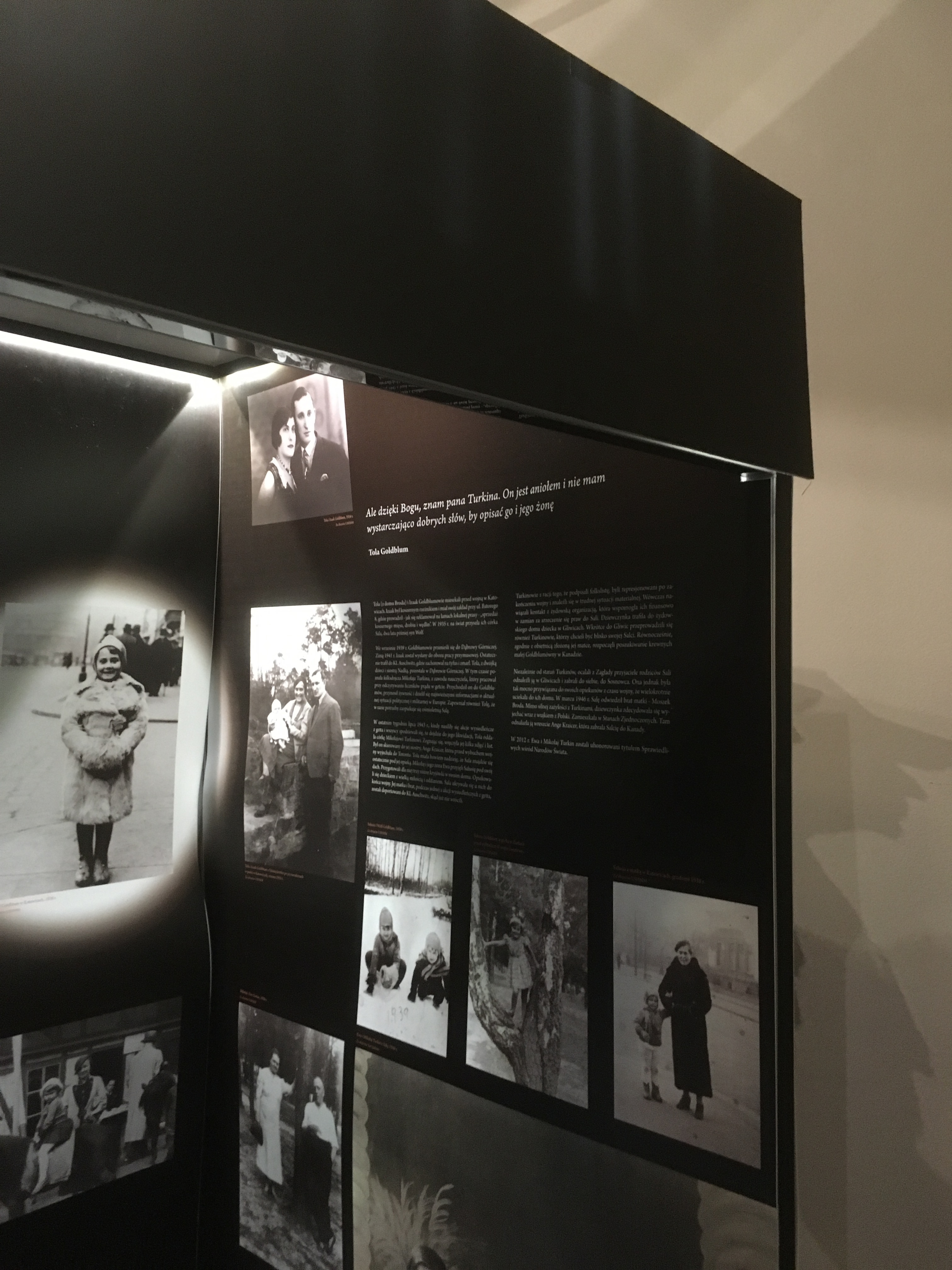 Fig 7 Gliwice House of Remembrance Exhibition